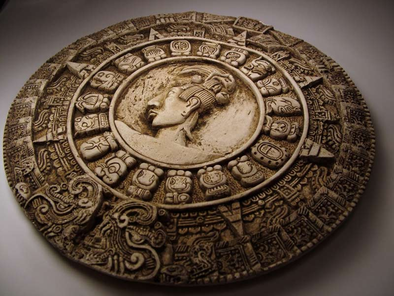 The Mayan Long Count Calendar. Photo credits: Hannah Gleghorn, via Shutterstock.