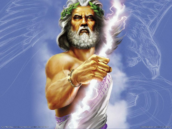 Zeus is often depicted as a bearded man bearing a thunderbolt. He has inspired hundreds of works of art, and he still does.
